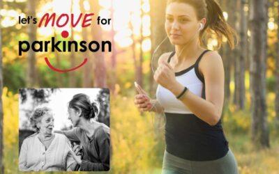 Dr. Alexandra Boogers a couru pour Let's move for Parkinson