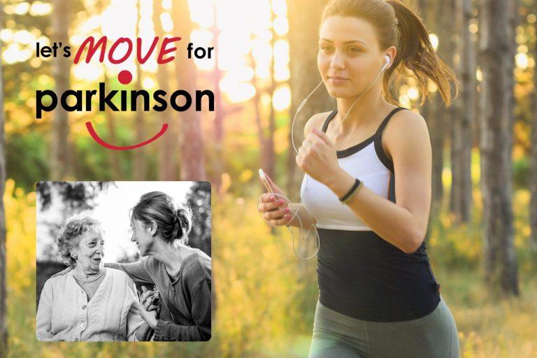 Dr. Alexandra Boogers liep mee met Let's move for Parkinson