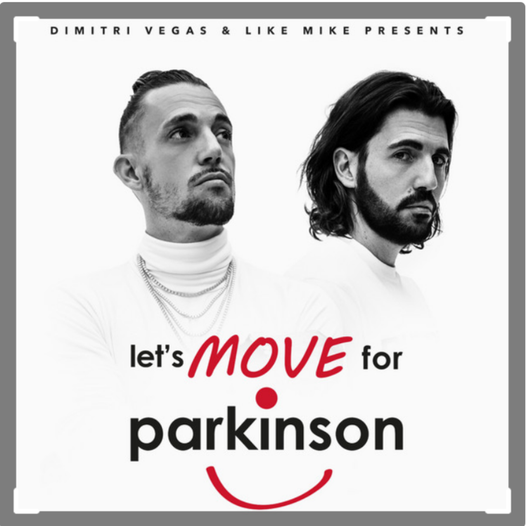 Dimitri Vegas en Like Mike stellen speciale Spotifylijst samen voor Let's Move for Parkinson