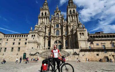 Santiago Stop Parkinson Ride komt aan in Compostella